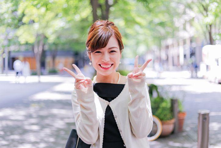 タップル誕生 メイン写真は安定の笑顔の正面写真