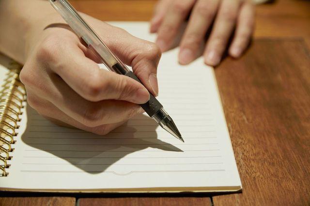 婚活パーティーの基礎知識とコツ 字は性格を表す!できる限り丁寧に書こう