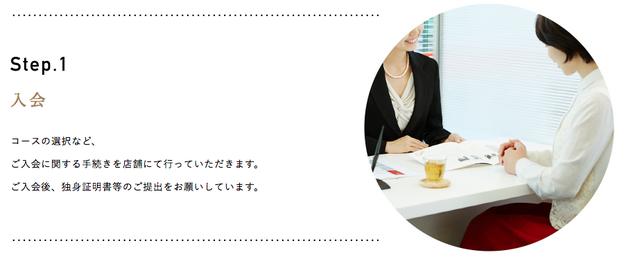 パートナーエージェント 2. 入会インタビュー
