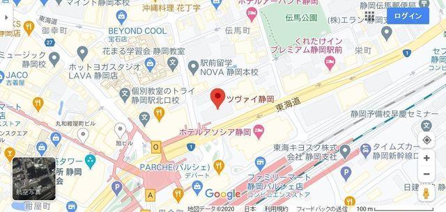 結婚相談所の基礎知識とコツ ツヴァイ静岡へのアクセス地図