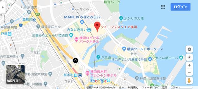 結婚相談所 クラブオーツ横浜ラウンジへの地図アクセス