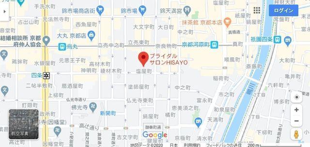 結婚相談所 ブライダルサロンHISAYOへのアクセス地図