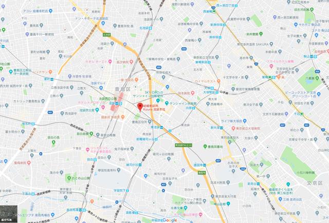 婚活恋活アプリ Kizuna池袋本社のアクセス地図