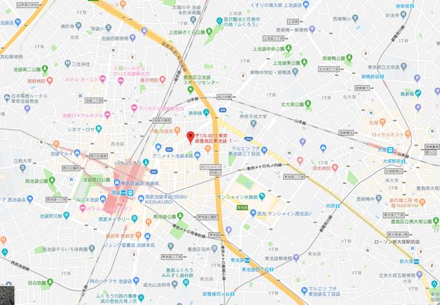 婚活恋活アプリ ToBeブライダルのアクセス地図