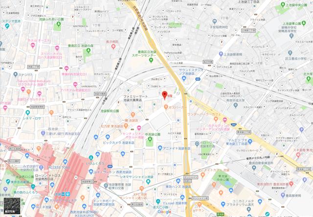婚活恋活アプリ マルベリーのアクセス地図