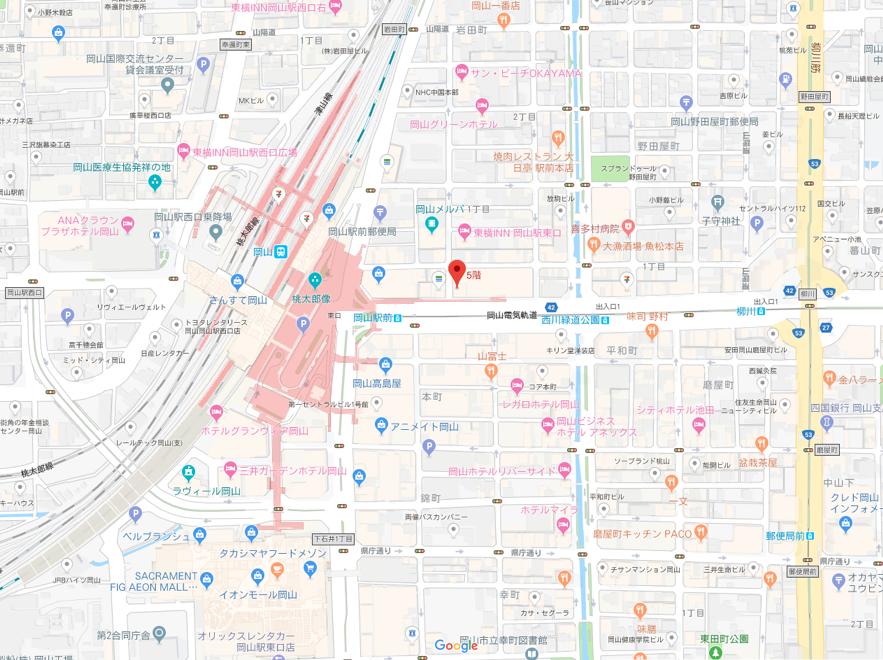 ツヴァイ 和(なごみ)のアクセス地図