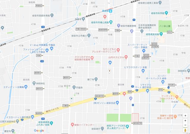 婚活恋活アプリ ディーアイネットのアクセス地図