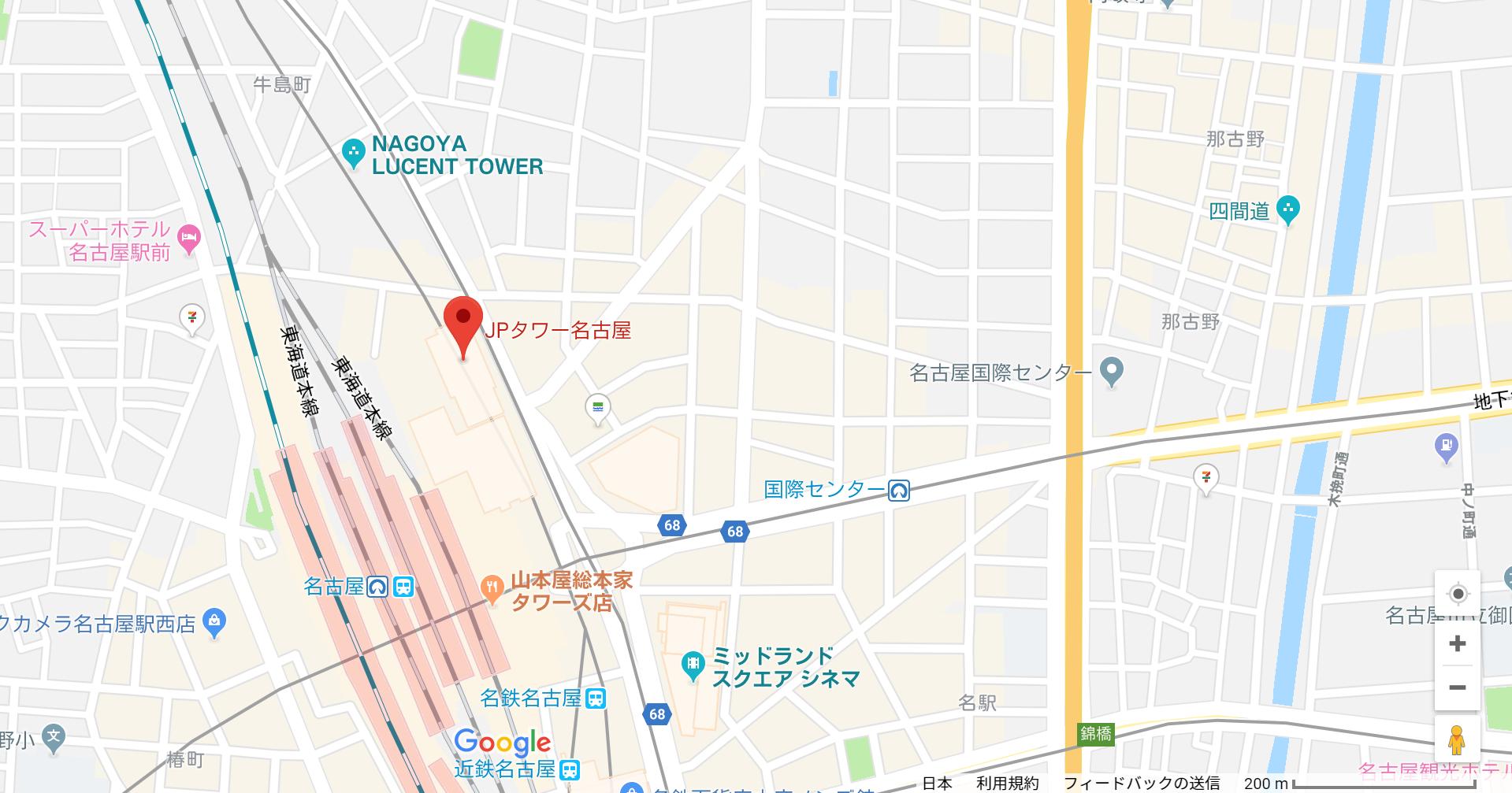 婚活のコツ KOKOへのアクセス地図