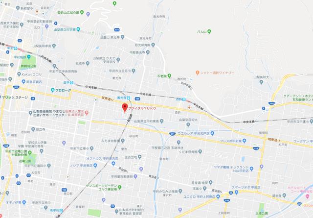 婚活のコツ ブライダルYUKOのアクセス地図
