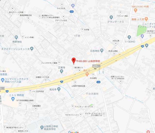 婚活のコツ 入倉結婚相談所のアクセス地図