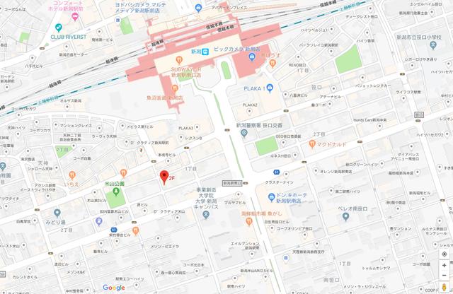 婚活恋活アプリ ハイグレードクラブのアクセス地図
