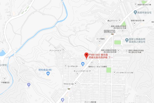 婚活恋活アプリ ブライダルセンター21鹿児島支社のアクセス地図