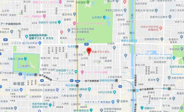 結婚相談所 京滋ブライダル滋賀オフィスのアクセス地図