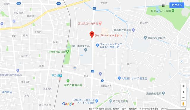 婚活のコツ ウェディングベル富山支社のアクセス地図