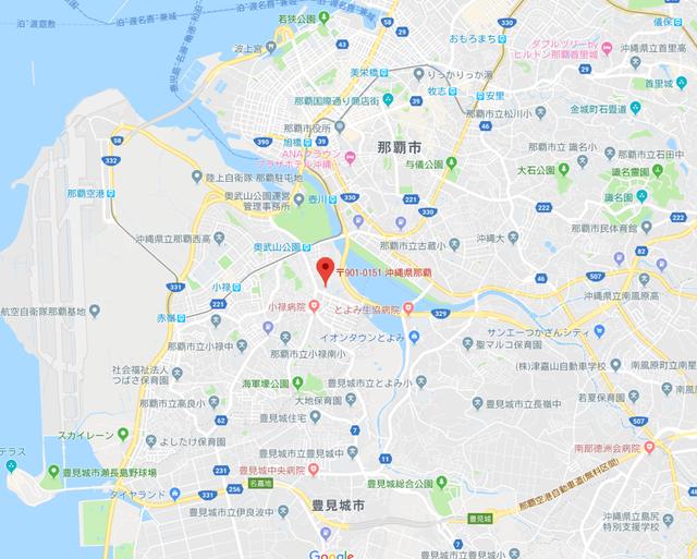 結婚相談所 スマイルゲート那覇のアクセス地図