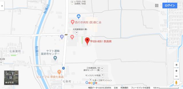 婚活恋活アプリ 糸のアクセス地図