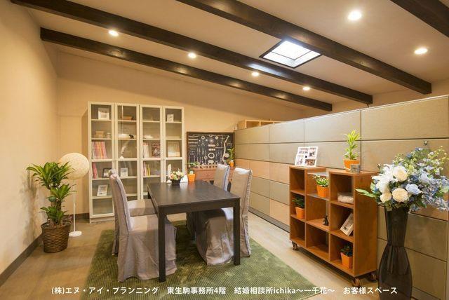 婚活恋活アプリ ichika ~一千花(いちか)~のアクセス地図