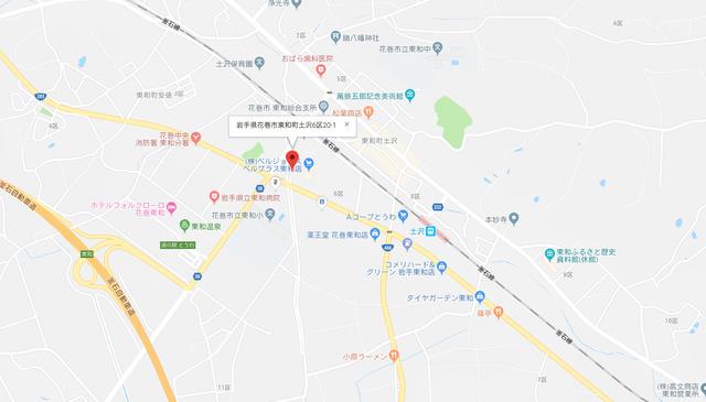 婚活恋活アプリ パンジークラブ  のアクセス地図