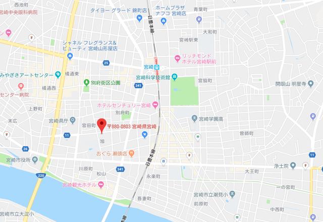 ツヴァイ エーティベル のアクセス地図