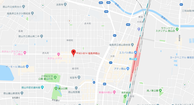 結婚相談所 Kizuna郡山のアクセス地図