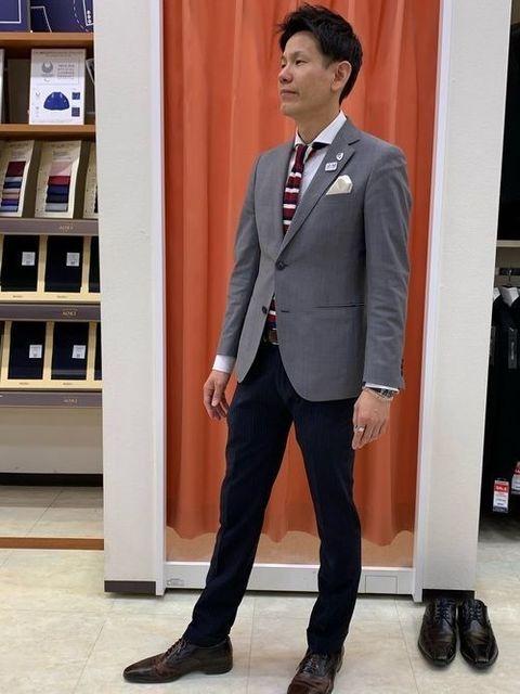 お見合い スーツスタイル