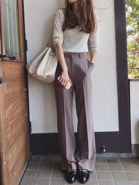 お見合い 【秋の服装】深みカラーやクラシック柄が大人っぽく