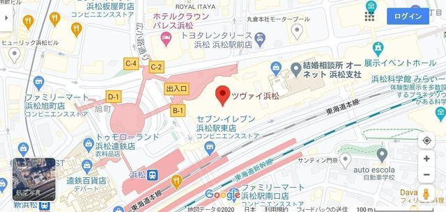 結婚相談所の基礎知識とコツ ツヴァイ浜松へのアクセス地図